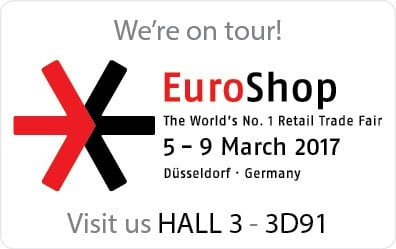 See us at Euroshop 2017 in Hall 3 - 3D91