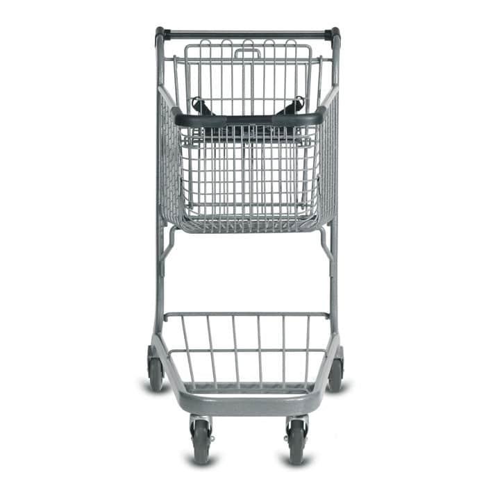 E Series 85 Liter Metal Wire Shopping Cart
