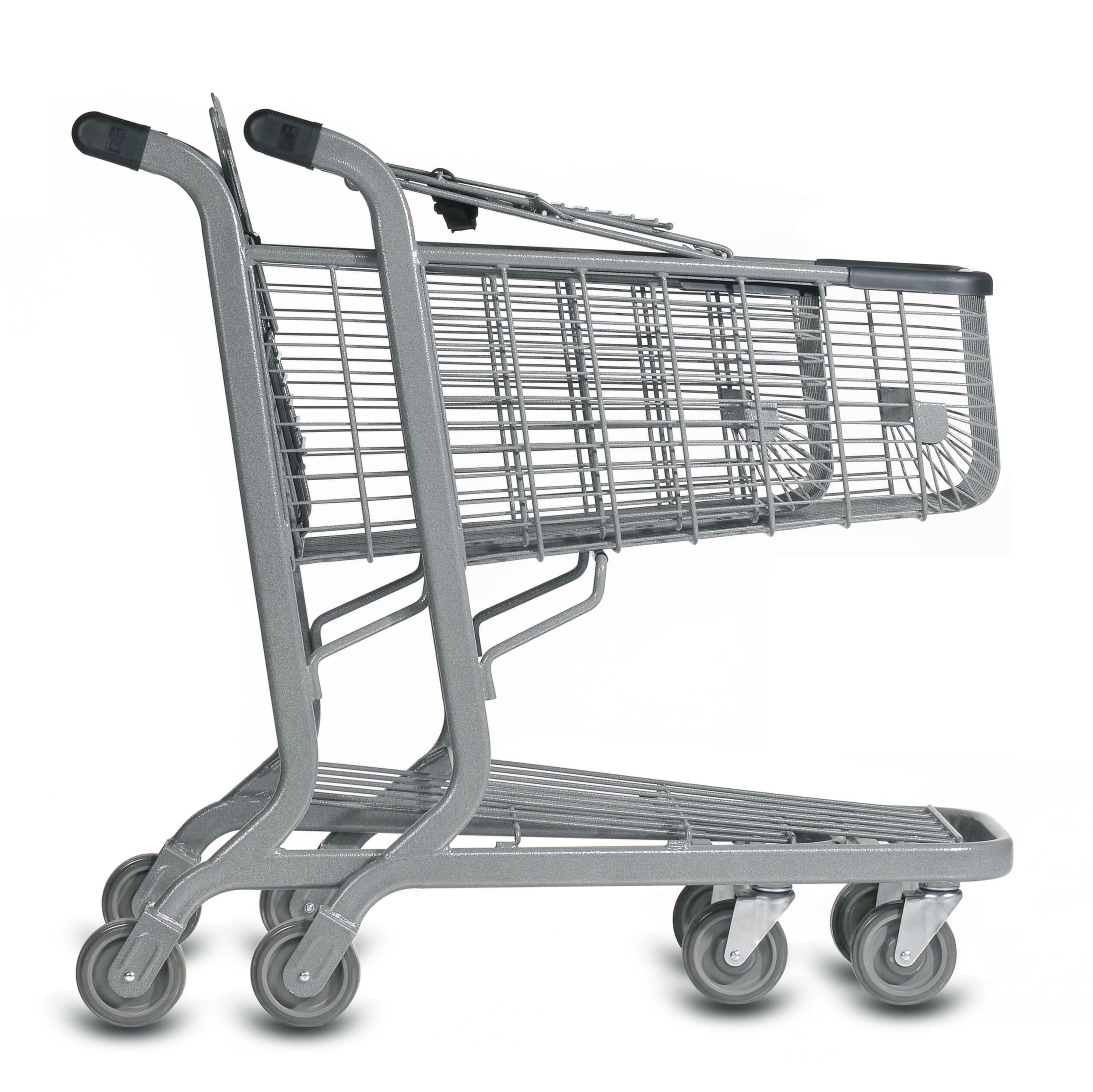 Metal Shelter Grocery Cart : E series liter wire shopping cart versacart