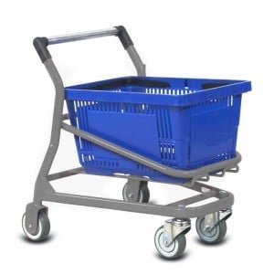 Wire Metal Kiddy Children's EZcart Shopping Cart