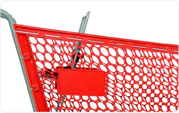 Customize your shopping carts with custom logo and branding options