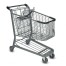 E Series 160 Liter Metal Wire Shopping Cart