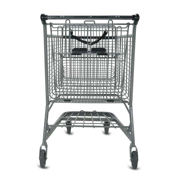 E Series 180 Liter Metal Wire Shopping Cart