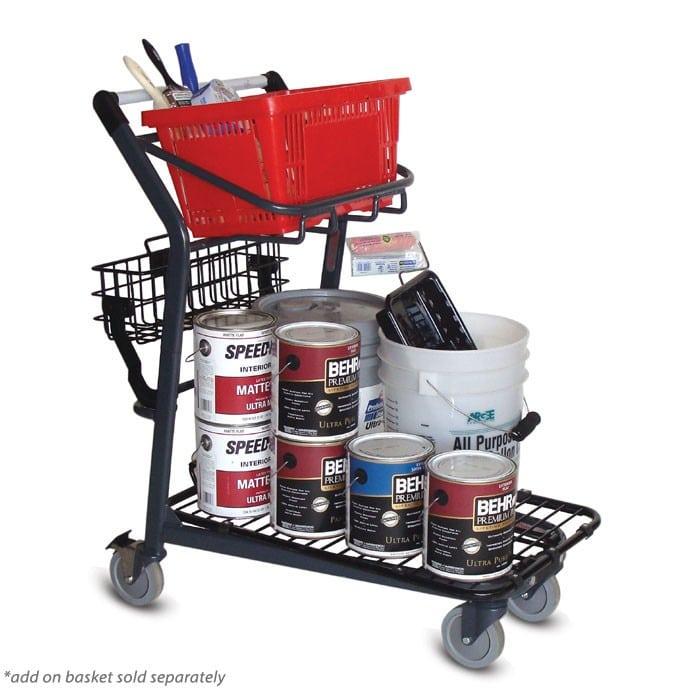 EZtote545 material handling metal shopping cart