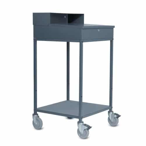Mobile Work Station Utility Lockable Desk