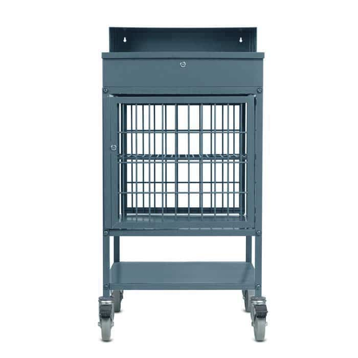 Security Cage for Mobile Work Station Utility Lockable Desk