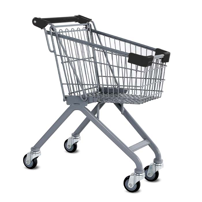 Wire Metal Kiddy Children's Shopping Cart