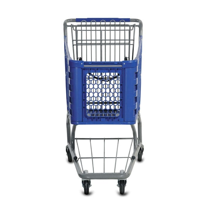 H Series 85 Liter Plastic Shopping Cart