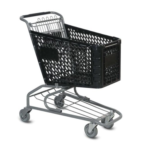 V Series 100 Liter Plastic Shopping Cart
