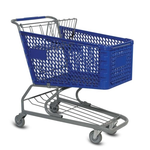 Shopping Carts, Retail Grocery Shopping Carts, Wire, Plastic, Metal, Nesting