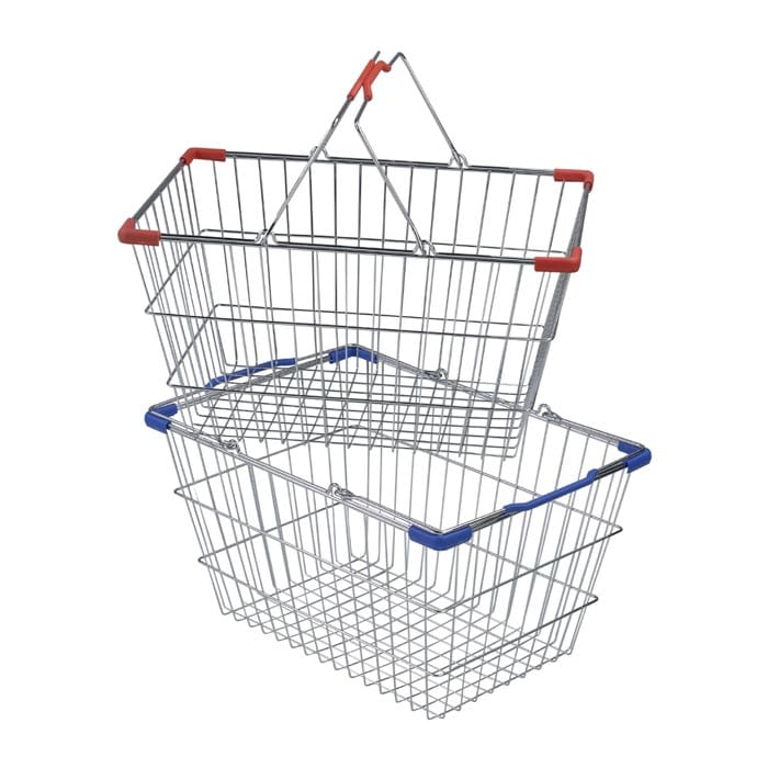 30 liter wire hand basket