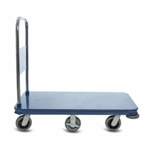 Platform Cart metal material handling utility shopping cart