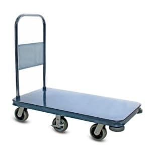 Platform Cart metal material handling utility shopping cart