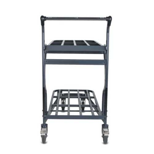 EZtote9600 HD nesting stocking material handling cart in dark grey