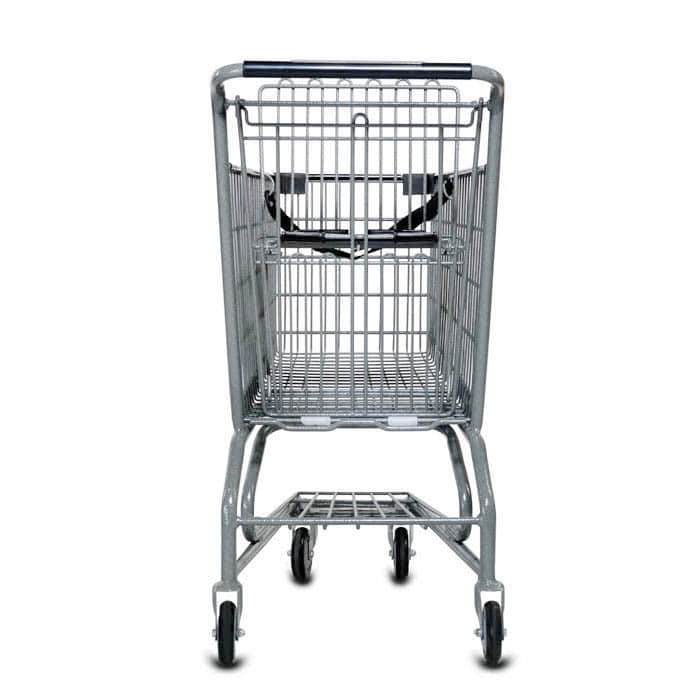 S Series 85 Liter Metal Wire Shopping Cart