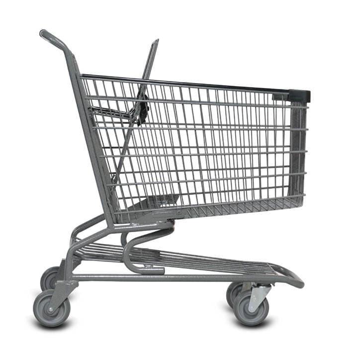 S Series 140 Liter Metal Wire Shopping Cart