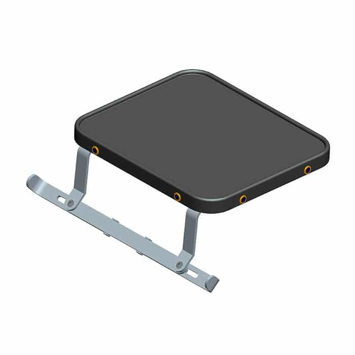 Add- on table accessory for EZtote carts