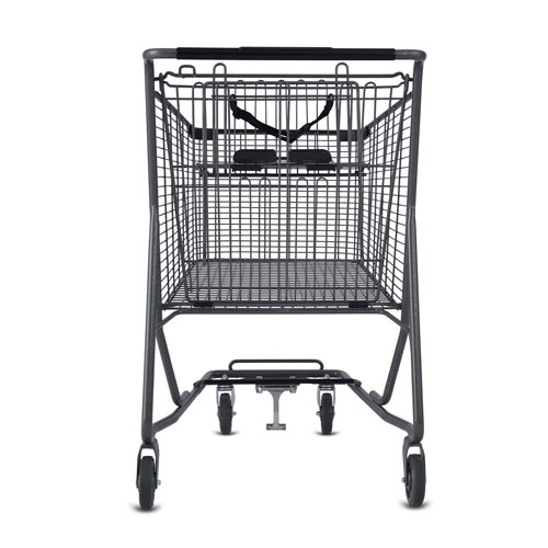 C Series 170 Liter Metal Wire Shopping Cart for Cartveyor Systems