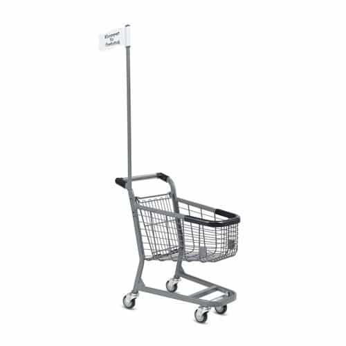 flag pole for kiddy kiddie wire cart