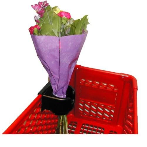 plastic beverage and flower holder