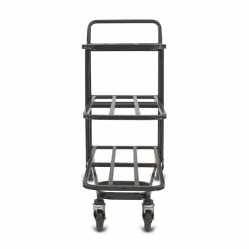 Nesting Utility Cart Model 33F in dark grey