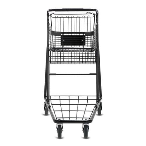 EXpress3150 metal wire convenience shopping cart in black